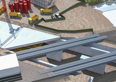 Phasage 3D de la station Fort d'Issy – Vanves – Clamart (Grand Paris)